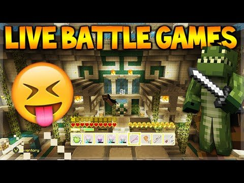 [LIVE] Minecraft Console Edition – Battle-Mini Game – Map Pack 2 Fun W/ Fans  (Console Edition)