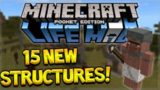 MCPE 0.15.4 LIFE MOD! Minecraft Pocket Edition Life Mod Brings 15 NEW Structures (Minecraft PE)