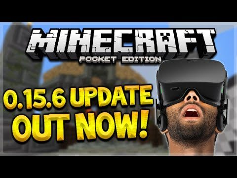 MCPE 0.15.6 OUT NOW! – Minecraft Pocket Edition 0.15.6 UPDATE & CHANGES! (Minecraft PE)