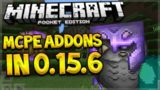 MCPE ADDONS TUTORIAL! Minecraft Pocket Edition 0.15.6 Working Addons Minecraft PE (Pocket Edition)