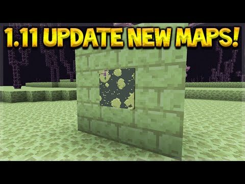 MINECRAFT 1.11 UPDATE! – Minecraft NEW Endermaps, Fuel Changes & More (PC Edition)