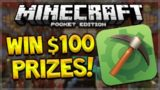 WIN $100 WORTH OF PRIZES!! Minecraft Pocket Edition MCPE Master APP Giveaway (Minecraft PE)