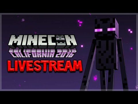 LIVE MINECON 2016 (DAY 2) – PC 1.11 SURVIVAL UPDATE – POCKET EDITION 0.16.0 – CONSOLE EDITION