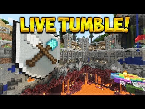 [LIVE] Minecraft Console Edition – NEW Tumble Mini-Game Subscriber Battles (Console Edition)