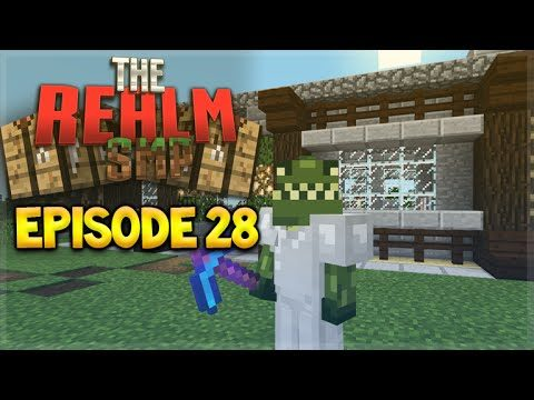MCPE 0.15.7 REALMS SMP EPISODE 28 – The Finishing Touch Minecraft PE (Pocket Edition)