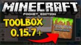MCPE 0.15.7 TOOLBOX UPDATE! Minecraft Pocket Edition Toolbox 0.15.7 Debug & More (Pocket Edition)