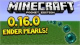 MCPE 0.16.0 ENDER PEARLS! Minecraft Pocket Edition 0.16.0 Ender pearls + Baby Mobs (Pocket Edition)