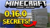 MCPE 0.16.0 HIDDEN MENU!! Minecraft Pocket Edition 0.16.0 Hidden Menus Found (Pocket Edition)