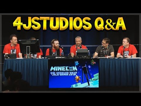 MINECON 2016 – 4jStudios Q&A LIVE Future Title Updates & Features (Console Edition)