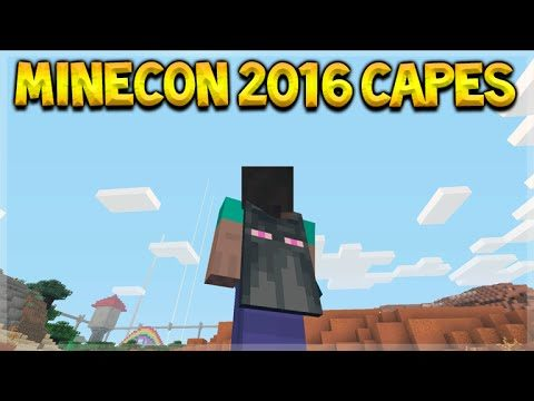 Minecraft Console Edition – NEW Minecon 2016 FREE Skin Pack Showcase 14 Different Skin