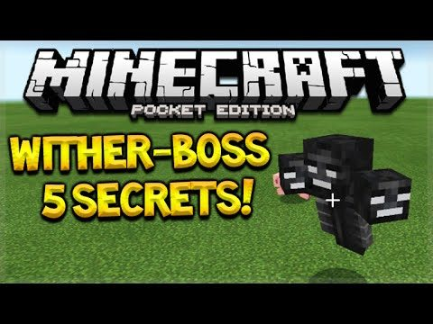 Minecraft Pocket Edition 0.16.0 – Wither-Boss Secrets You Might Not Know (Pocket Edition)