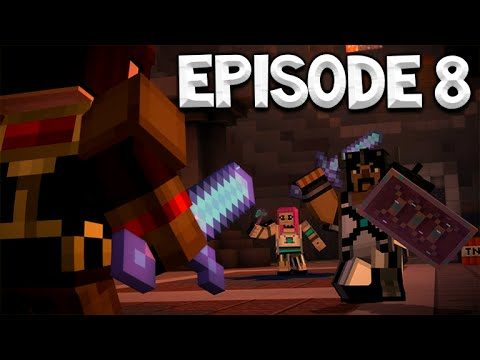 Minecraft Story Mode – Episode 8 – THE OLD BUILDER!! – A Journey's End!
