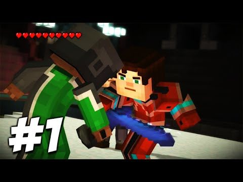 Minecraft Story Mode – Episode 8 – THE DEATH DECIDER!! (Part 1) A Journey's End!