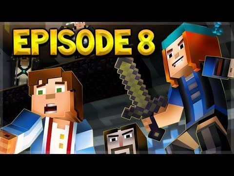 Minecraft Story Mode – Episode 8 TWO NEW CHARACTERS!! – A Journey's End!