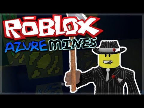 ROBLOX AZURE MINES – SECRET CAVE15,000 XP IN 2 BLOCKS!