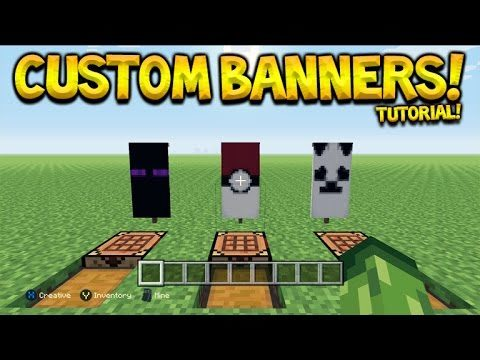 3 Awesome Custom Banner Designs Tutorial In Minecraft Console Edition Eckoxsolider
