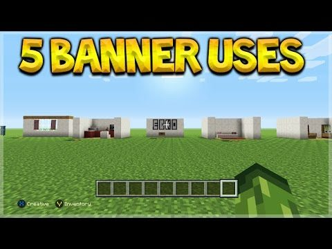 5 Different Things You Can Do With Banners In Minecraft Console Edition