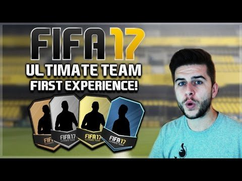 FIFA 17 ULTIMATE TEAM – FIRST EXPERIENCE, PACK OPENING & SQUAD BUILDING (Fifa Ultimate Team)