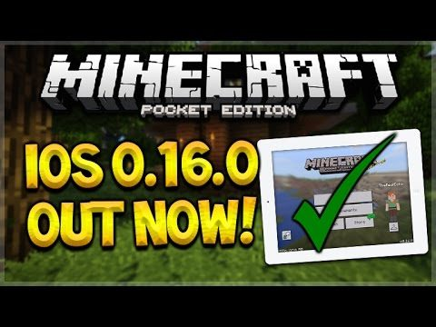 iOS 0.16.0 RELEASED!! Minecraft Pocket Edition – 0.16.0 iOS UPDATE OUT NOW! (Pocket Edition)