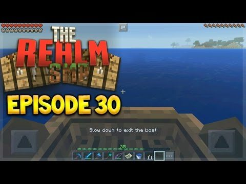 MCPE 0.15.10 REALMS SMP EPISODE 30 – The Not So Lucky Adventure Minecraft PE (Pocket Edition)