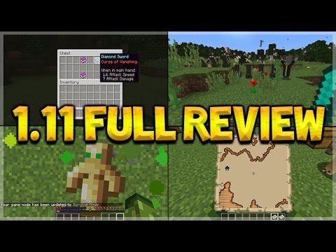 Minecraft 1.11 Exploration Update – FULL Review Of All New Features Llamas, Shulker Box & More