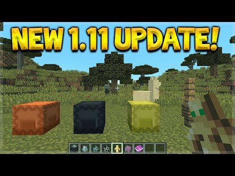 Minecraft 1.11 Update – The First Experience Llamas, Shulker Box, New Mobs & More! (PC Edition)