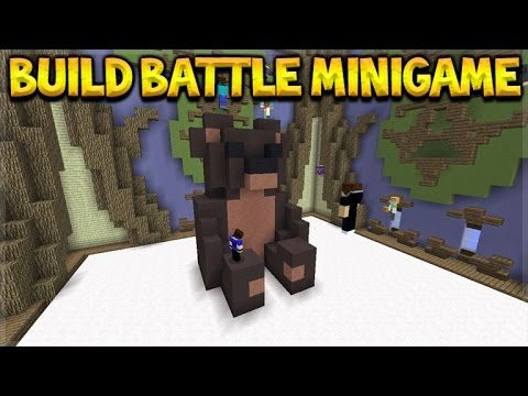 Minecraft Console Edition – Build Battle Mini-Game Coming 4jStudios Minecon Teaser (Console Edition)