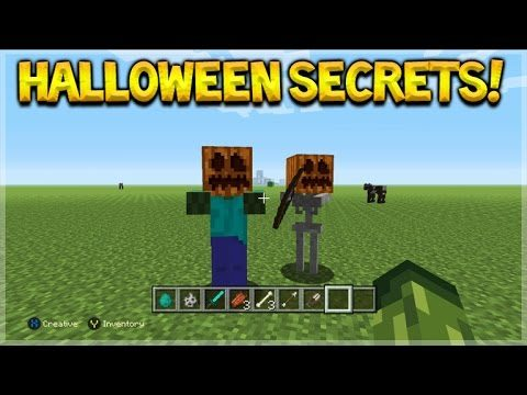 Minecraft Console Edition – Cool Halloween Minecraft Secret Pumpkin Mobs (Console Edition)
