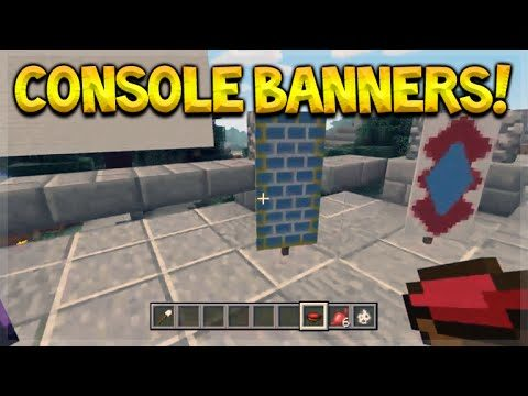 Minecraft Console Edition – NEW TU43 Banners FULL Showcase & Explained (Console Edition)