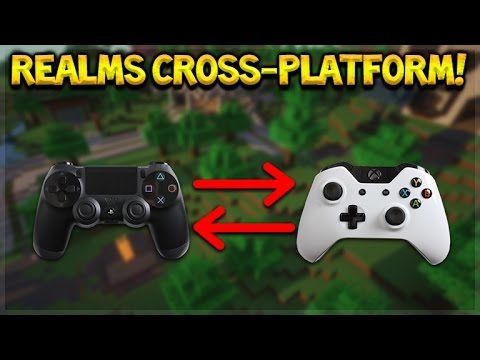 Minecraft Console Edition – REALMS Servers + Cross Platform Play Coming (Console Edition)