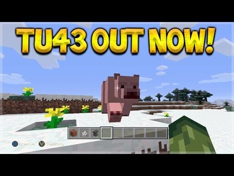 Minecraft Console Edition – Title Update 43 OUT NOW! – Polar Bears, New Enchantments & MORE!