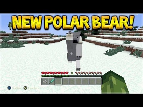 Minecraft Console Edition – Title Update 43 NEW Polar Bear Mob Full Guide (Console Edition)