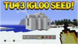 Minecraft Console Edition – Title Update 43 IGLOO Near Spawn Seed + Broken Sea Temple!