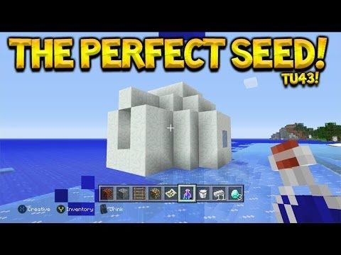 Minecraft Console Edition TU43 The Perfect Seed – ALL New Features + All Biomes & More!