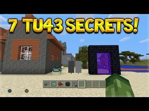 Minecraft Console Edition – TU43 Update 7 Secret Features & Changes! (Console Edition)