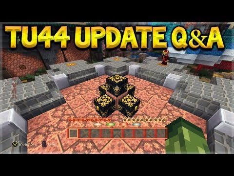 Minecraft Xbox 360 + PS3: – TU44 Update Q&A Elytra & New Mini-Games (Console Edition)