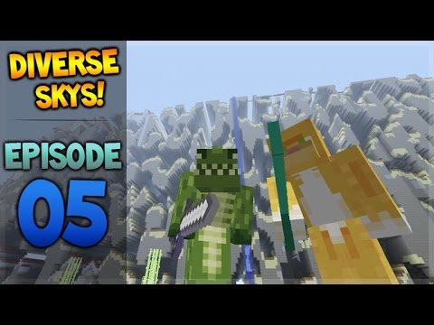 Minecraft Xbox – Diverse Sky's – Goodies Hunting! Episode 5