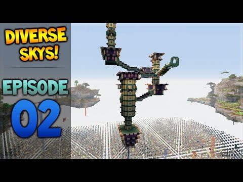 Minecraft Xbox – Diverse Sky's – The End City Episode 2