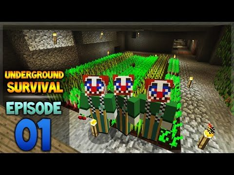 Minecraft Xbox – Underground Survival – The Last Daylight Episode 1