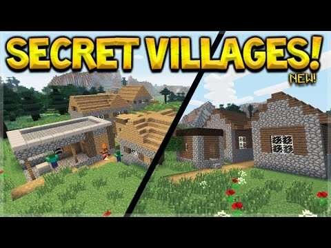 RARE SECRET VILLAGES! Minecraft Console Edition – Title Update 43 NEW Rare Villages