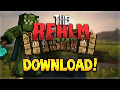 REALMS SMP WORLD DOWNLOAD! Minecraft Pocket Edition – Youtuber Realms DOWNLOAD (Pocket Edition)