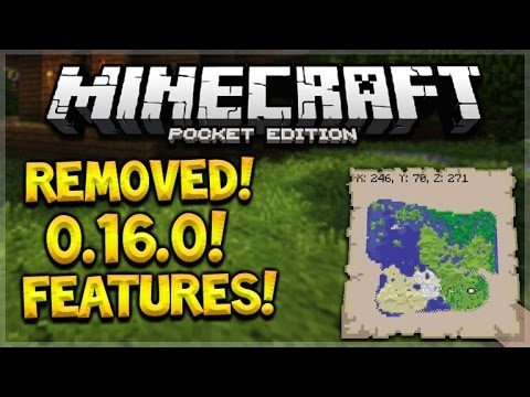 REMOVED 0.16.0 FEATURES! Minecraft Pocket Edition – 0.16.0 Removed FeatureS + iOS Release Date