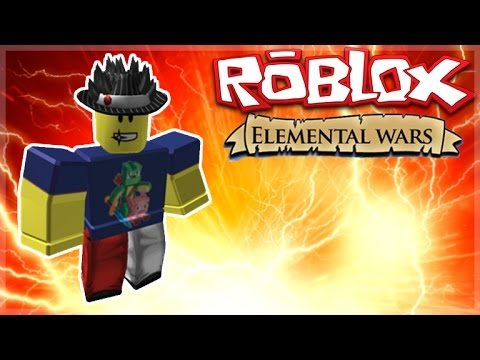 Roblox Adventures – ELEMENTAL WARS! – I AM THE ICE WIZARD! (Roblox)