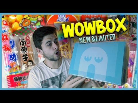Trying Japaneses Candy! WOWBOX Unboxing [New & Limited] CHILLI CHIPS!!