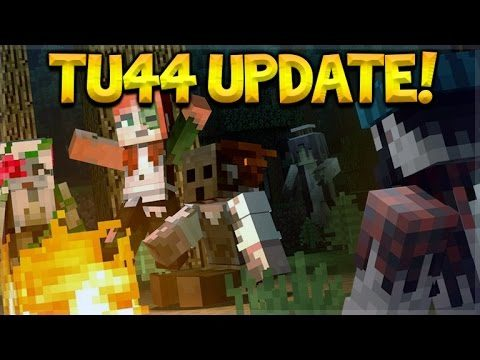 TU44 OUT NOW! Minecraft Console Edition – Title Update 44 Changes – Halloween Special + Map Pack DLC