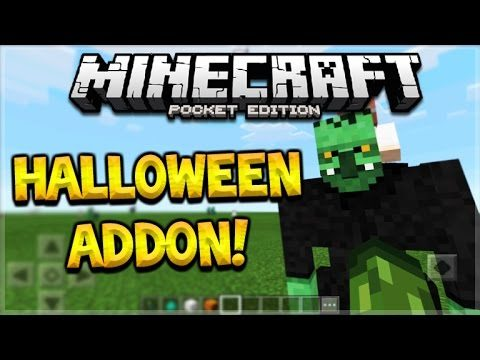 HALLOWEEN ADDON! Minecraft Pocket Edition – NEW Custom Mobs Halloween Edition Addon (Pocket Edition)