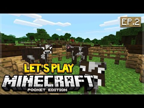 Let's Play Minecraft Pocket Edition 0.16.0 – The Animal Roundup Episode 2 (Pocket Edition)