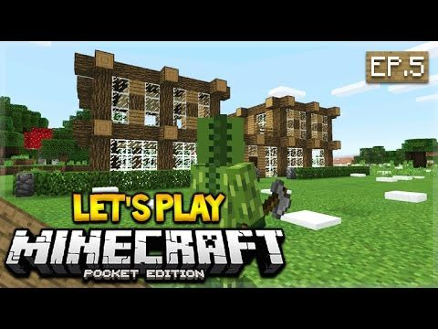 Let's Play Minecraft Pocket Edition 0.17.0 – We Actually Found Them!! Episode 5 (Pocket Edition)