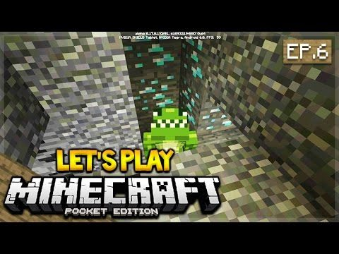 Let's Play Minecraft Pocket Edition 0.17.0 – The Perfect Mine! Episode 6 (Pocket Edition)