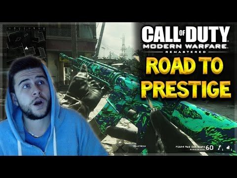 [LIVE NOW] – MODERN WARFARE REMASTERED   Road To Prestige 1 (Shipment Experience)